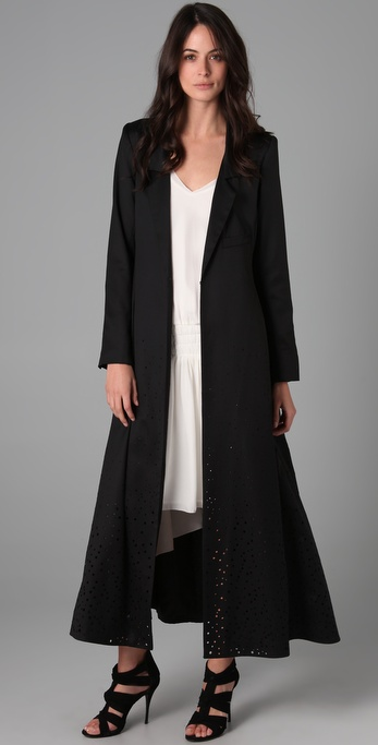 Black Duster Jacket