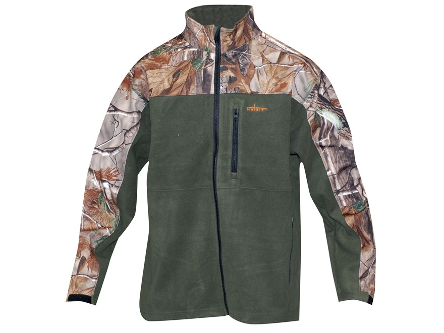 Fleece Camo Jackets