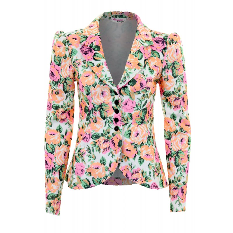 More Details Tory Sport Floral-Print Packable Performance Jacket Details Tory Sport floral-print jacket in durable stretch fabric. Approx.