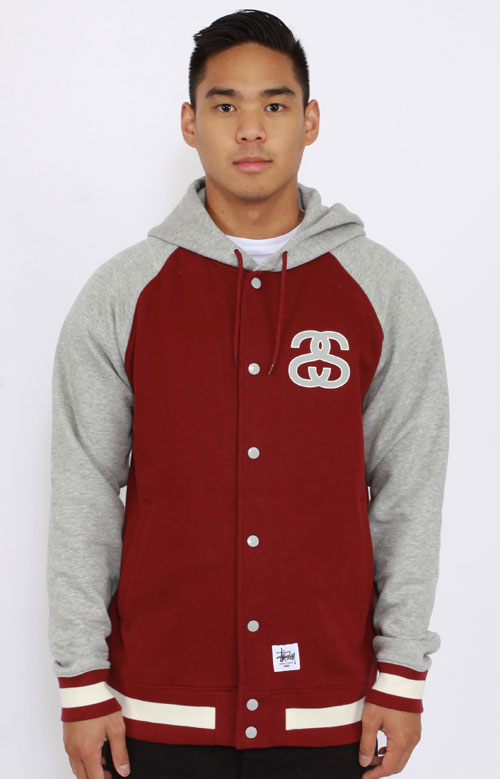 Hooded Baseball Jacket | Outdoor Jacket
