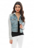 Hooded Jean Jacket Outfit