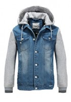 Hooded Jean Jackets for Men