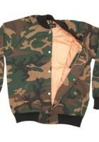 Images of Camo Bomber Jacket