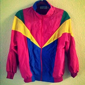 Collection of Retro Windbreaker Jackets. 34 best Vintage ...