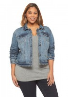 Jean Jacket Plus Size Women's