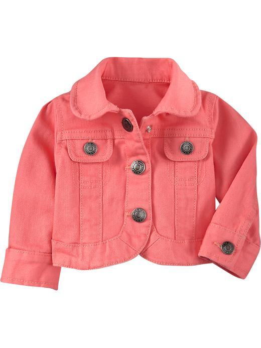 Baby Jean Jackets Jackets