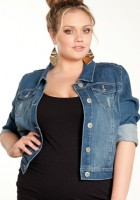 Jean Jacket for Plus Size