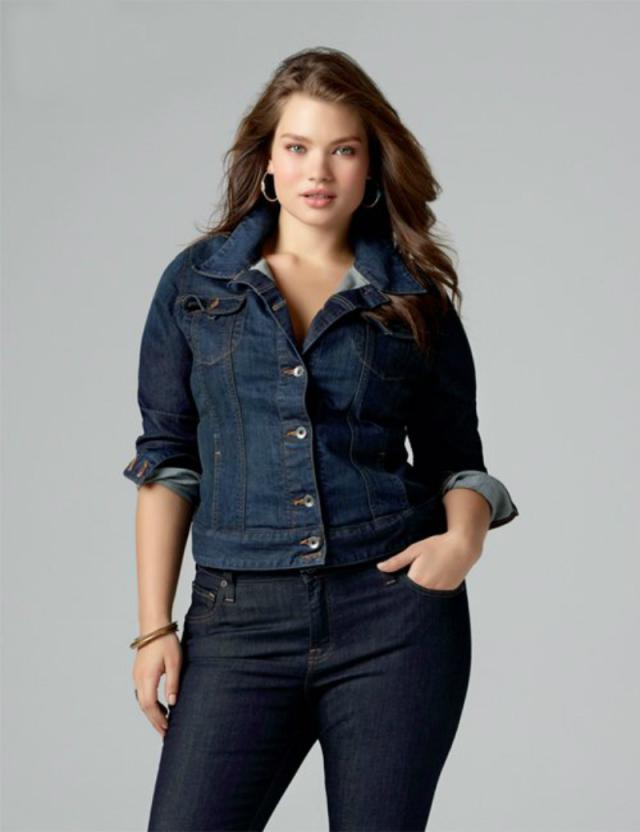 Black Jean Jacket Plus Size - Xtellar Jeans