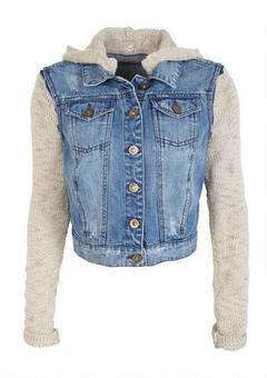Sweater Denim Jacket | Outdoor Jacket