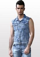 Jean Vest Jacket for Men