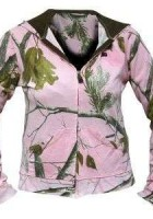 Ladies Pink Camo Jacket