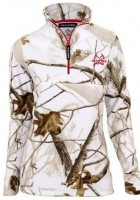 Ladies White Camo Jacket