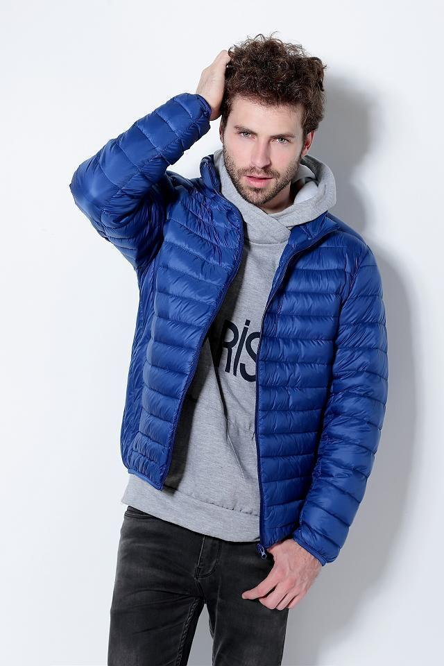 Images of Packable Down Jacket For Men - Reikian