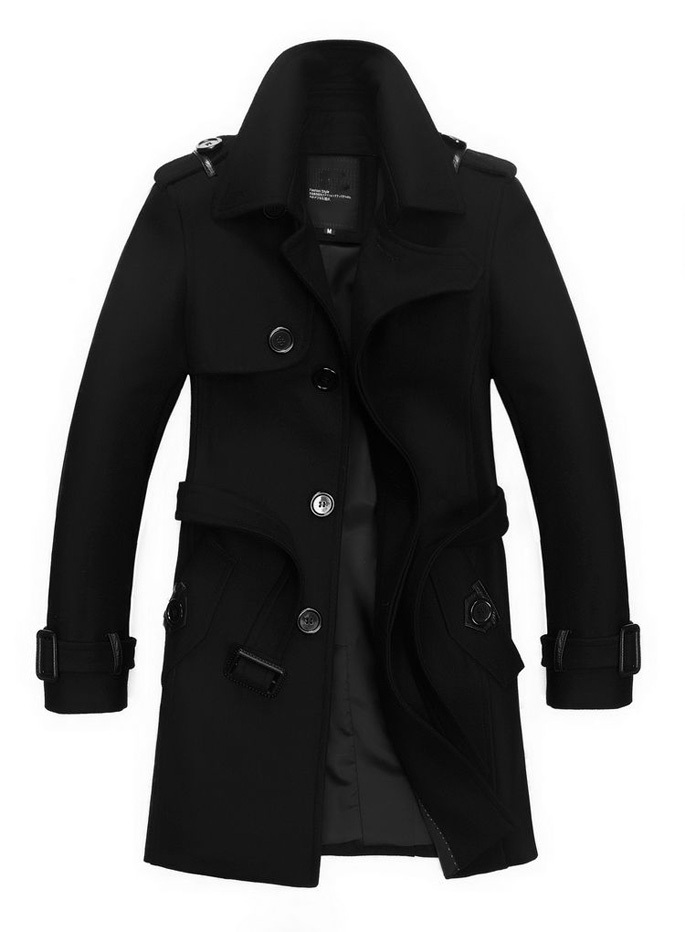 Long Black Jackets For Men - JacketIn