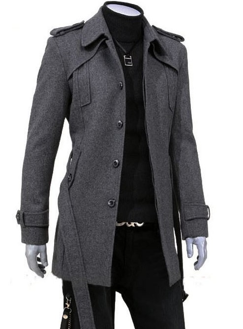 Images of Long Coat For Mens - Reikian