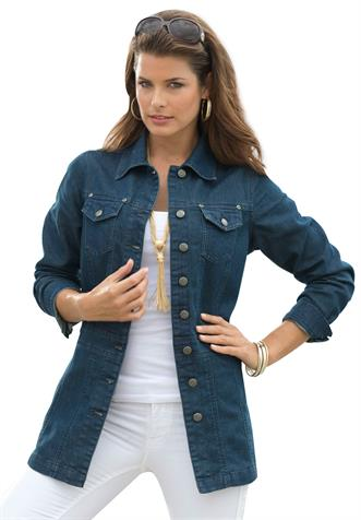 Long Jean Jackets For Women - JacketIn