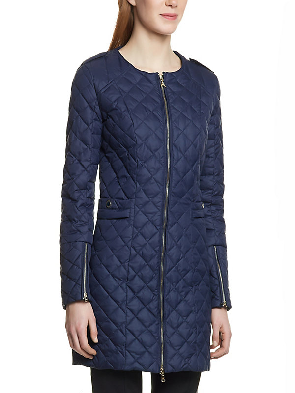 Long Quilted Jacket – Jackets