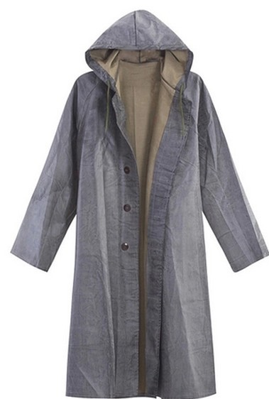 Long Rain Jackets For Men - JacketIn