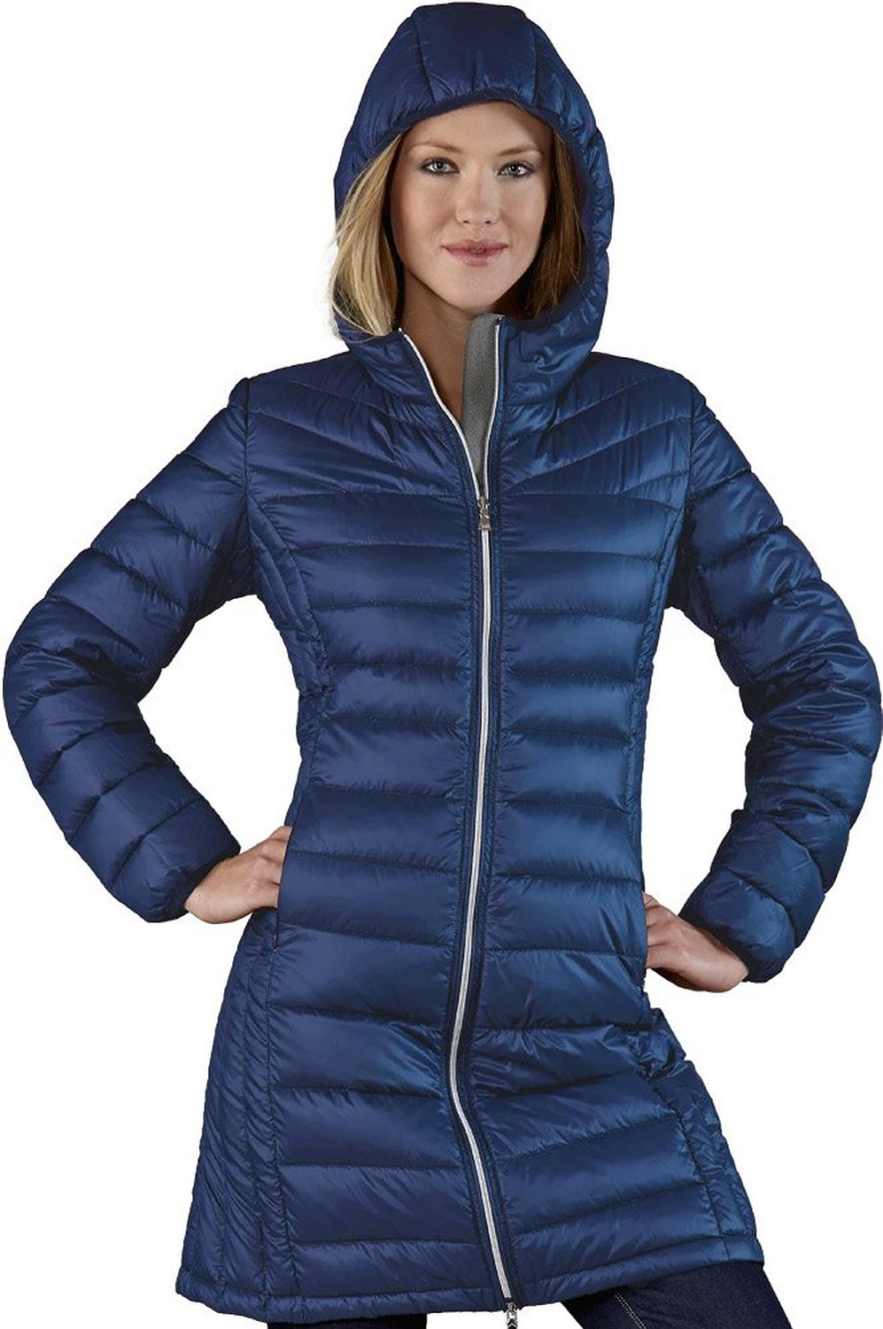 Long Down Jacket Ladies - Coat Nj