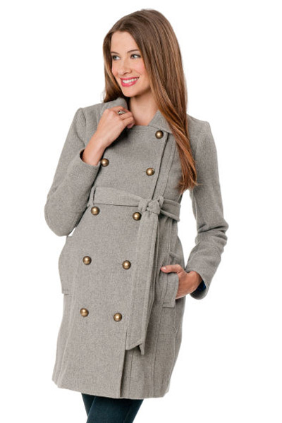Tart Maternity Andi Maternity Jacket A cozy-chic outfit completer, this shawl-collar jacket features a tweedy texture edged with faux leather piping for a bit more polish than the usual blazer. Style Name:Tart Maternity Andi Maternity Jacket.