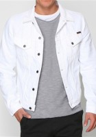 Mens White Jean Jacket