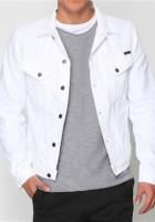 Mens White Jean Jacket