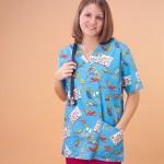 Nursing Scrub Jackets