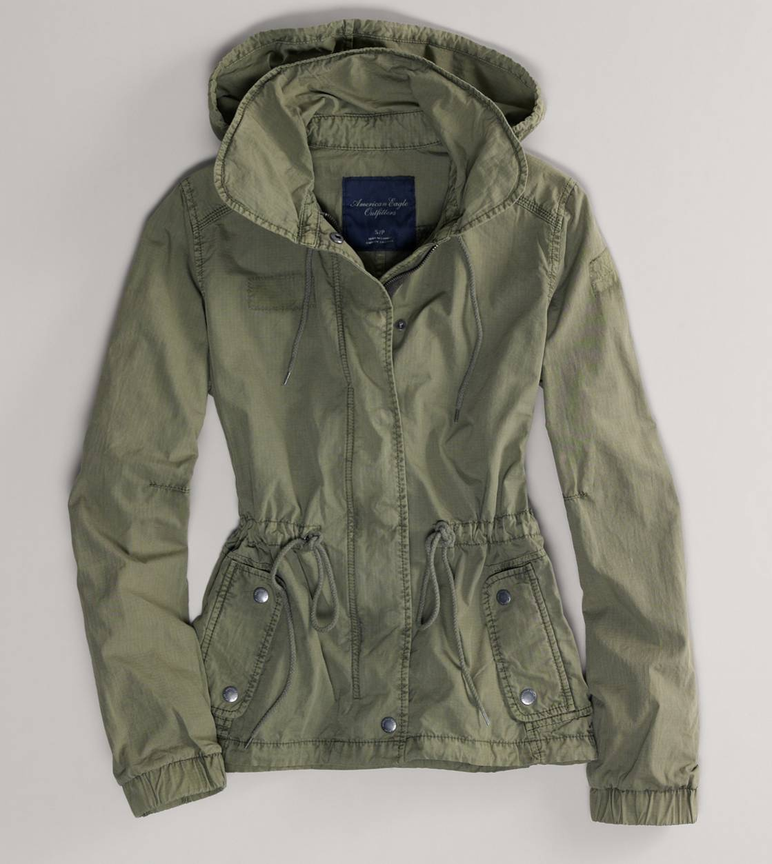 Green Jacket Womens