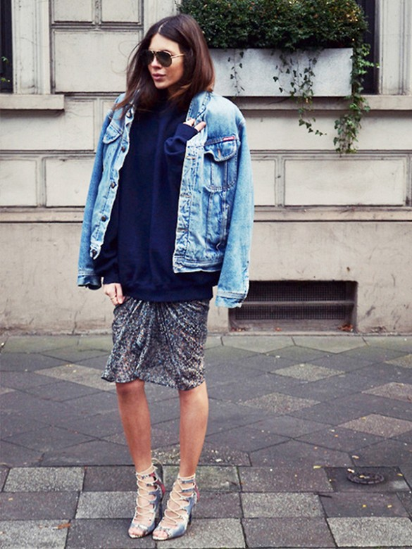 Oversized Denim Jackets u2013 Jackets