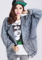 Oversized Jean Jacket Women