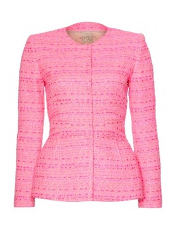 Pink Boucle Jacket | Jackets Review