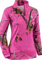 Pink Camo Winter Jacket