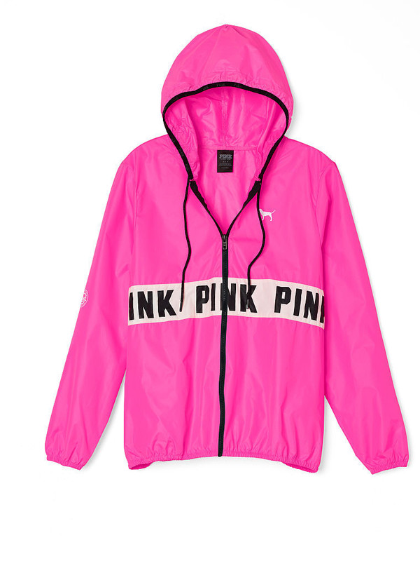 Pink Windbreaker Jackets Jackets