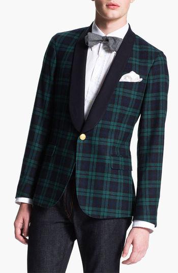 Mens Wool Jacket With Hood