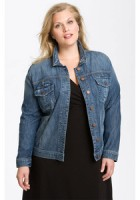 Plus Size Blue Jean Jackets