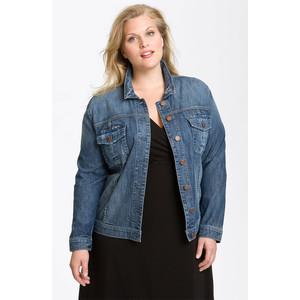Blue Jean Jackets For Plus Size - Xtellar Jeans