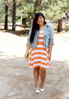 Plus Size Jean Jacket Outfit