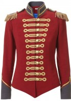Red Military Jacket