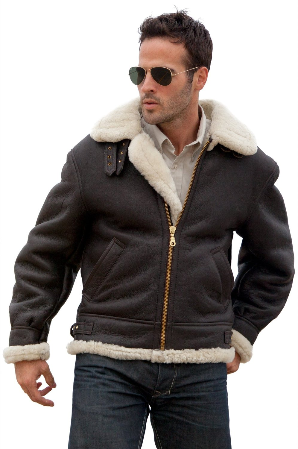 Best sellers for Sheepskin Bomber Jackets
