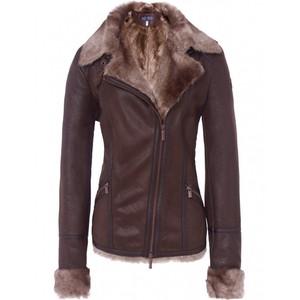 Womens Leather Sheepskin Jacket aYdWrD