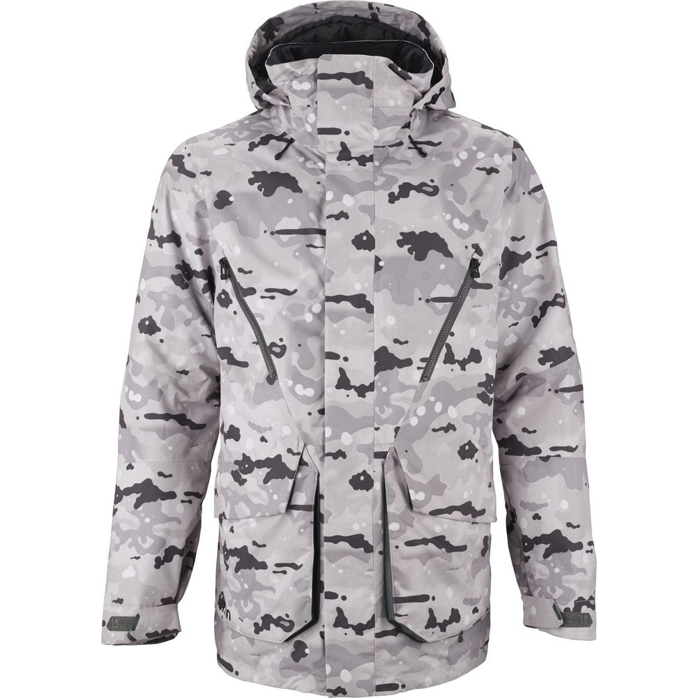 Snow Camo Snowboard Jacket