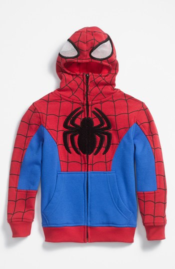 This officially licensed Spider-Man jacket is a fun and functional addition to his cold-weather wardrobe. Keep your little one cozy out in the cold with this little boys' puffer jacket inspired by the web-slinging Marvel superhero Spider-Man.