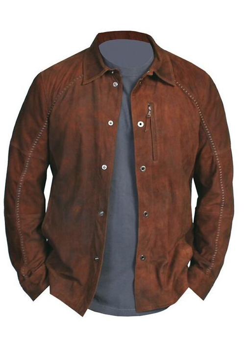 Men's Leather & Suede Jackets Versatile and stylish, a leather or suede jacket is an essential wardrobe staple for every man. At Neiman Marcus, we offer men's leather and suede jackets in impeccable fits.