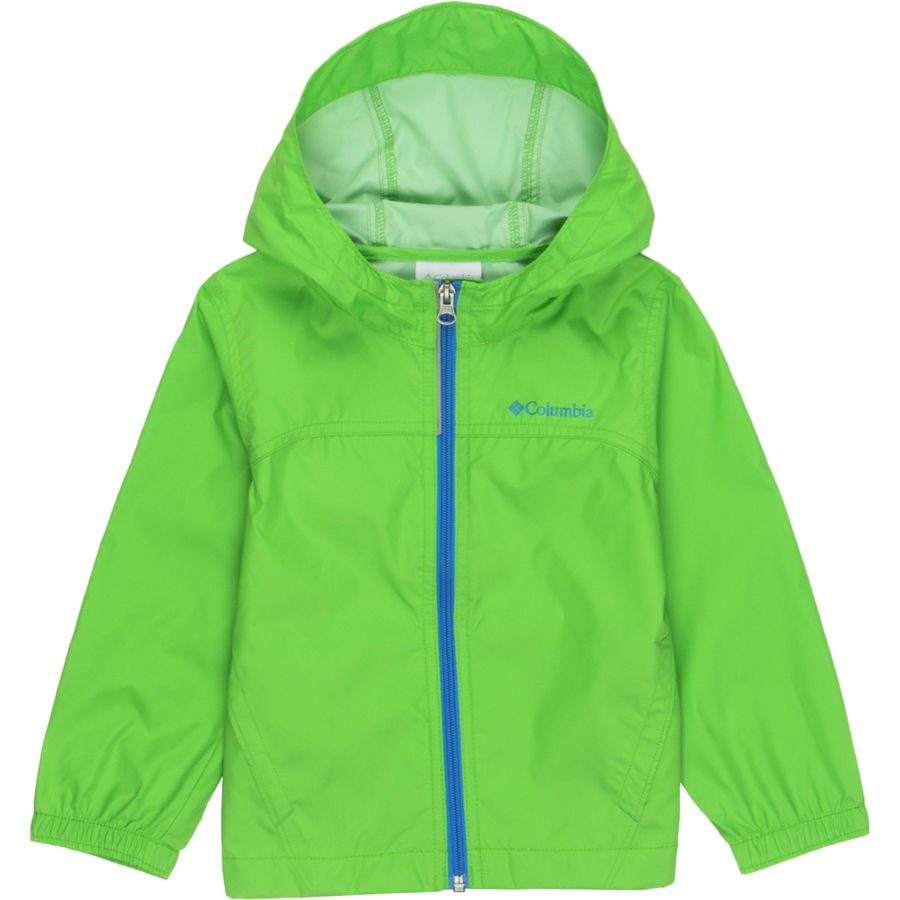 Keep your wee backpacker warm and dry with this waterproof and windproof DryVent™ rain jacket that features a quick-zip front closure, and an elastic hood and 5/5(15).