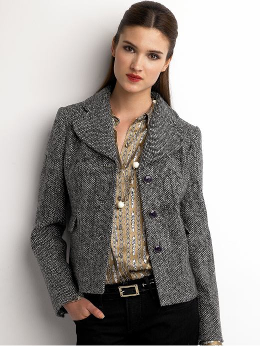 Short Tweed Jacket