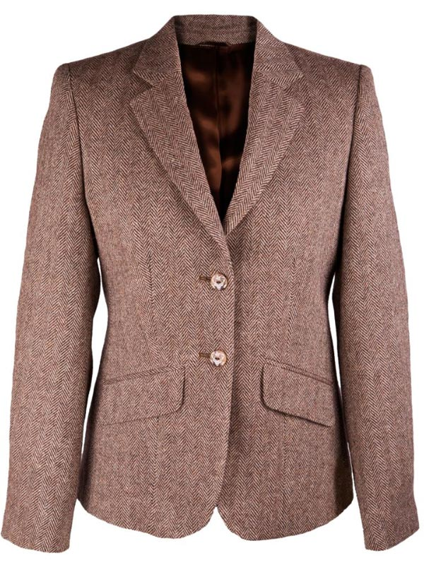 Tweed Jackets Womens