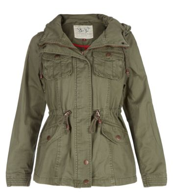 Green Army Jacket Womens