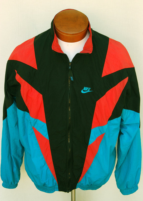 Collection of Vintage Windbreaker Jacket. Old School Windbreaker ...