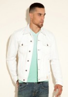 White Jean Jacket Men