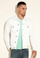White Jean Jacket Men